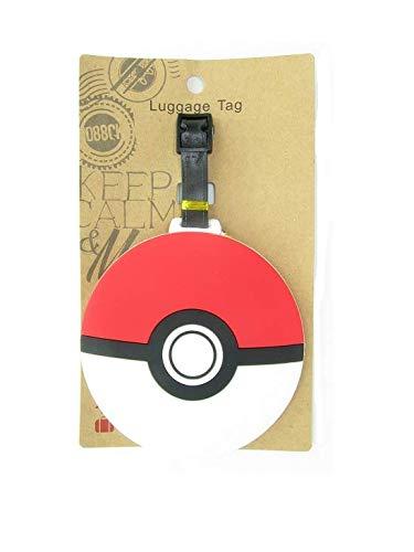 Etiqueta para Maleta (Pokemon Ball)