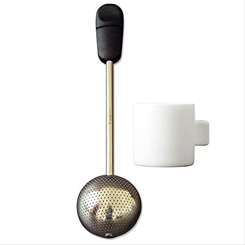 Creative Tea Making Device, 304 Stainless Steel Tea Leaking Tea Strainer Tea Strainer, Tea Ball Tea Bag Strainer, Tea Strainer with Handle