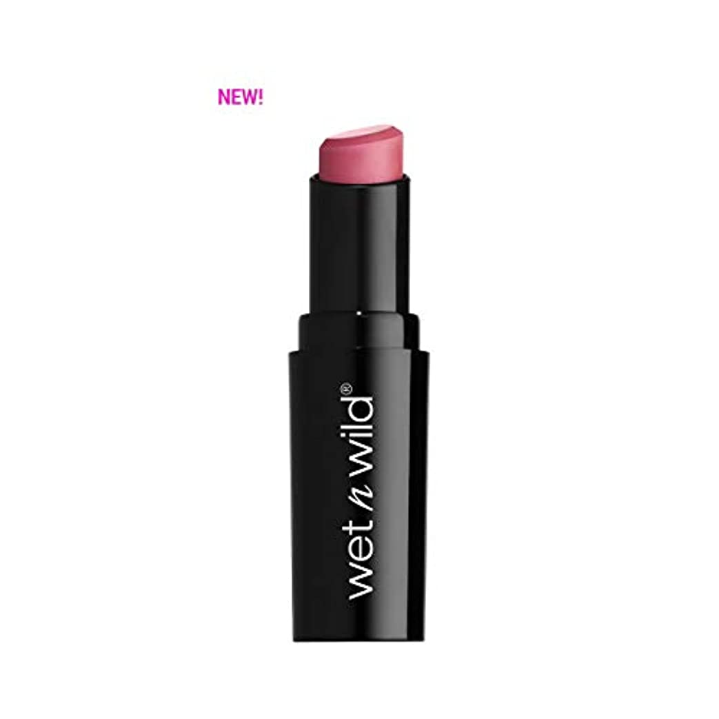 比喩シフト以下(3 Pack) WET N WILD Mega Last Matte Lip Cover - Rose the Matter (並行輸入品)