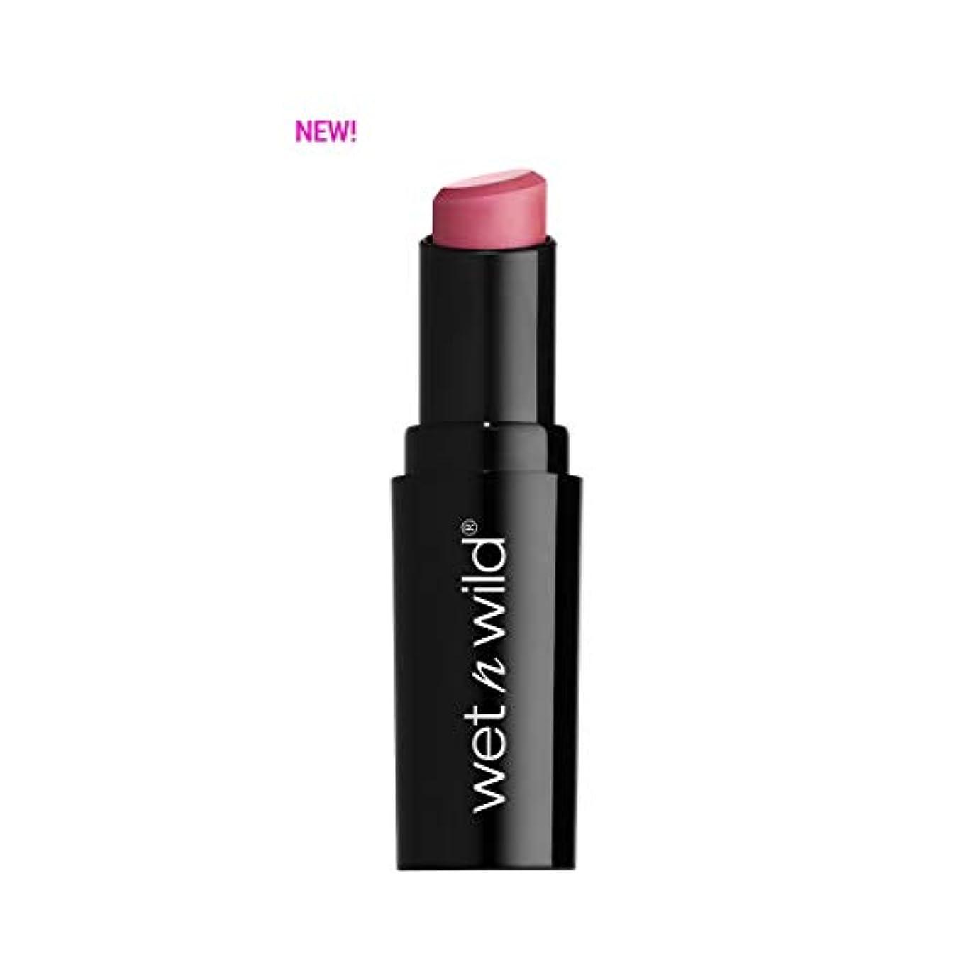 不安定なペース下に(6 Pack) WET N WILD Mega Last Matte Lip Cover - Rose the Matter (並行輸入品)