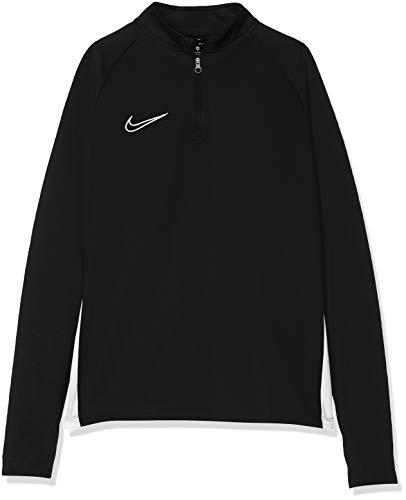 Nike Jungen B NK DRY ACDMY DRIL TOP Long Sleeved T-Shirt, black/White, L