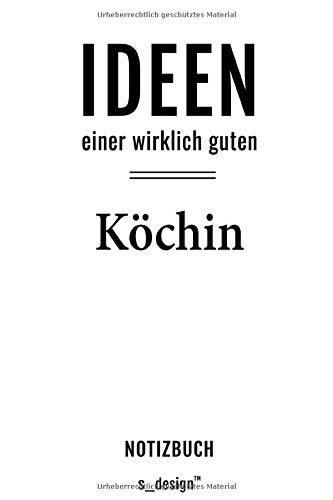 Notizbuch für Köche / Koch / Köchin: Originelle Geschenk-Idee [120 Seiten liniertes blanko Papier] _