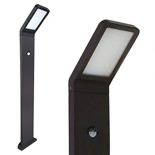 LED Standleuchte 80cm mit Bewegungsmelder Außenleuchte Außenlampe Wandleuchte Edelstahl Wegeleuchte 337 Standlampe