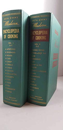 Meta Given's Modern Encyclopedia of Modern Cooking, Two Volume Set