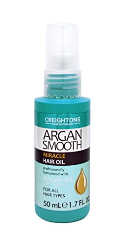 Creightons Argan Smooth Miracle Hair Oil (50ml) - Professionally formulated...