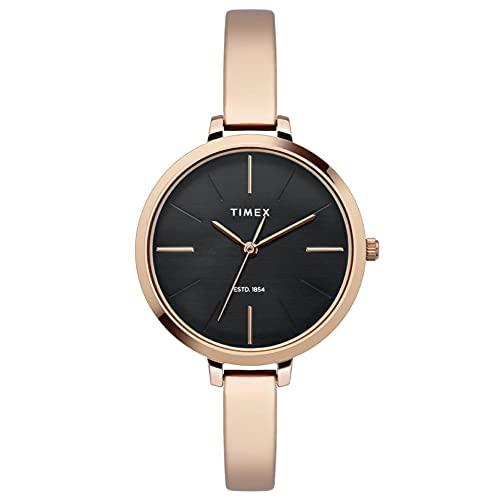 Timex Analog Black Dial Women's Watch-TWEL12805