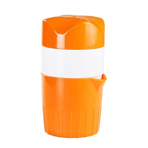 Exprimidor De ZAIYI Manual Juicer Home Exprimidor De Frutas Orange Mini Easy Juice Cup,Orange
