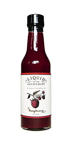 Liquid Alchemist Raspberry Cocktail Syrup, Drink Mixer, Soda Syrup - Natural, Premium, Small Batch Syrups (5 oz)