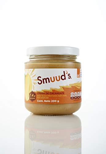 Crema de Cacahuate | Peanut Butter SMUUD'S Keto Snacks | Envase de 200g