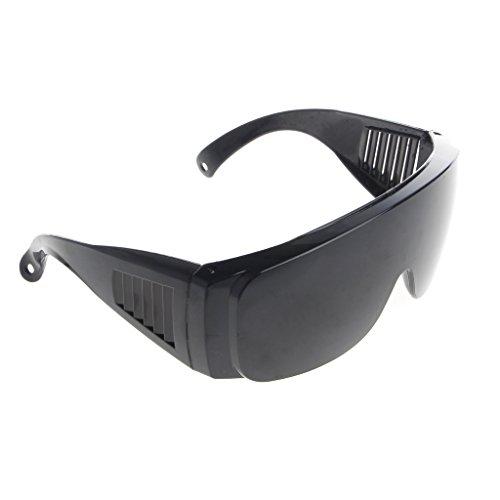 Celan Schutzbrille für Zahnärzte und Augenbrauen, Farbe: Schwarz