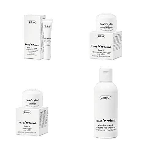 Ziegenmilch Gesichtspflege-Set mit GRATISPRODUKT
