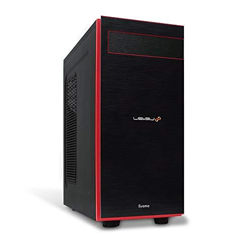 iiyama ゲーミングデスクトップパソコン LEVEL∞ (Core i7-10700K/RTX 3070/16GB・NVMe対応 M.2 SSD 500GB+HDD 2TB/BTO) LEVEL-R049-iX7K-TAXH-M