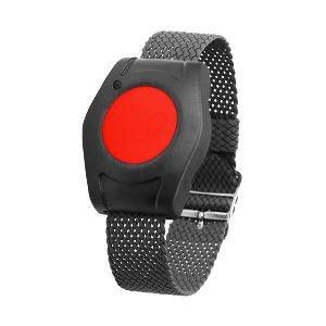 Easywave RT265001E02 Armbandsender RT26 anthrazit, rote Taste, Mehrfarbig