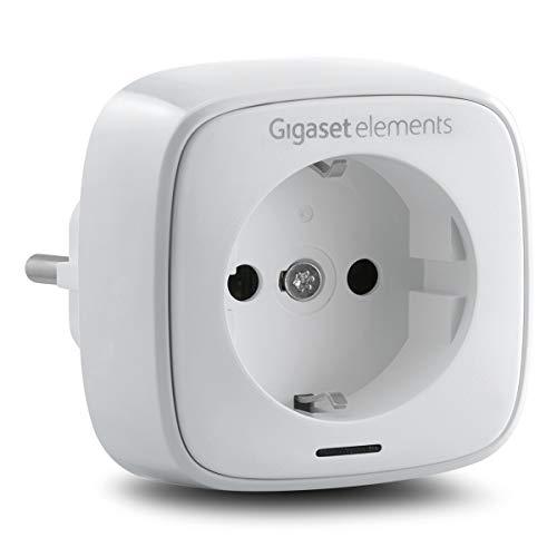 SET-ERGÄNZUNG - Gigaset Funksteckdose mit Zeitschaltuhr-Funktion und intelligenter App-Steuerung - Steckdose mit Fernbedienung zur Lichtsteuerung - Smart Home Stecker