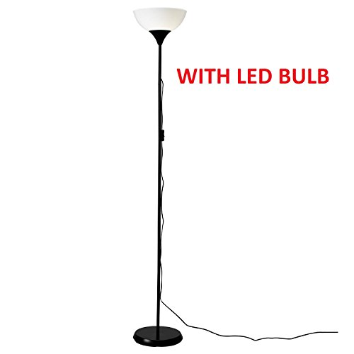 "Ikea 101.398.79 ""NOT"" Floor Uplight Lamp 69-inch includes IKEA LED Light Bulb E26 5W 400 Lumen"
