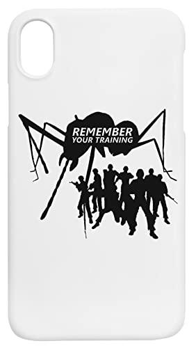 Tierra Defensa Fuerza Recordar iPhone XR Protector Carcasa de Telefono Protective Phone Case