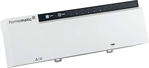 Homematic IP Wired Fußbodenheizungsaktor HmIPW-FAL24-C6 – 6-Fach, 24 V