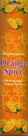 Impressions Räucherstäbchen, Tasche, 20 Sorten, SPICE ORANGE