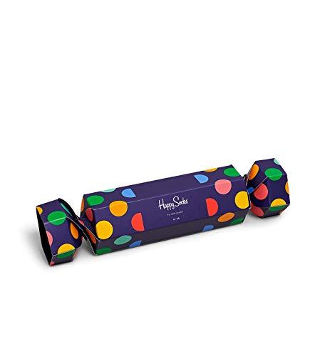 Happy Socks - Adventskalender - Limited Edtition 2018, Holiday Big Dot Cracker 2-pack, 36-40