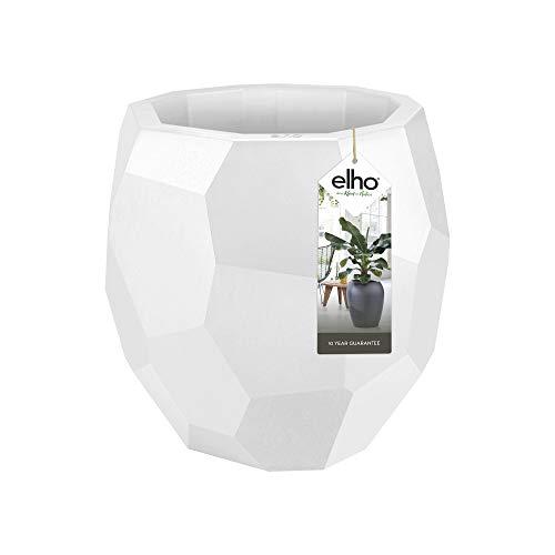 Elho Pure Edge 40 - Blumentopf - Weiss - Drinnen & Draußen - Ø 39.5 x H 38.1 cm