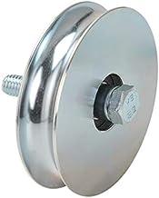 Rond enkel wiel, diameter 120 mm, hoge belasting.