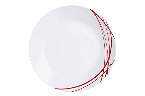 Arcopal Domitille - Assiette Plate - D25cm - Verre - (Lot de 12)