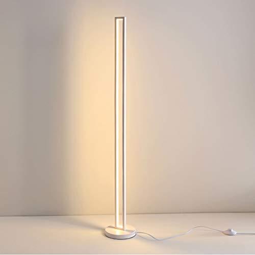 Luz de Pie Lámpara de pie Dimmible Control táctil Lámpara de pie utilizada en la sala de estar Dormitorio para aprender Costura Dormitorio moderno Lámpara de lectura moderna Lámpara de pie Dormitorio