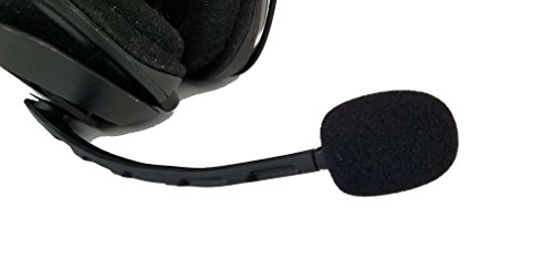 ienza Microphone Wind Pop Filter WindScreen Mic Foam for AstroA30 A30, A40, A40 TR and A50 Headsets