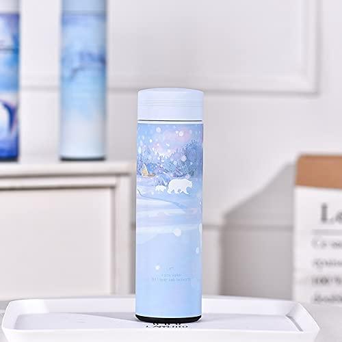 XYAN 50 0ML Taza de Acero Inoxidable Premium Botella de vacío Doble vacío Frasco Té café Leche Bebida Thermos Botella Aislamiento Copa Aislada (Capacity : 500ML, Color : Fantasy Bear)