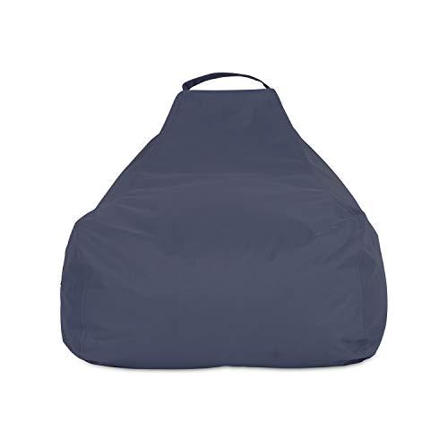 knorr-baby 440501 Sitzsack L, Fb. grau