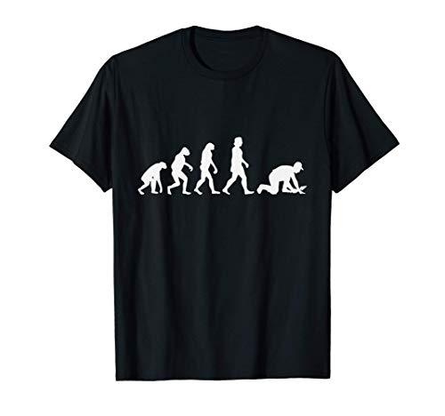 Hombre Tiler Evolución Regalo Solador Baldosador Camiseta