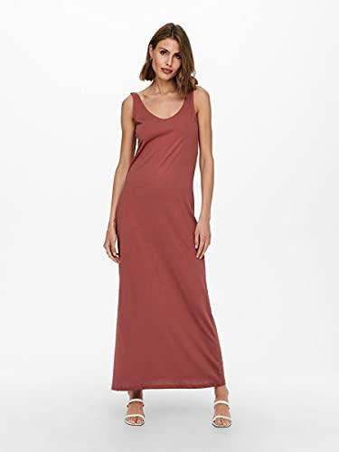 Only ONLMAY Life S/L V-Neck Dress JRS Vestido, Apple Butter 2, XS para Mujer
