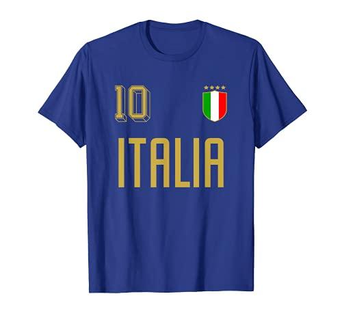 Retro Italy Soccer Jersey Italia Football Calcio Numero 10 Maglietta