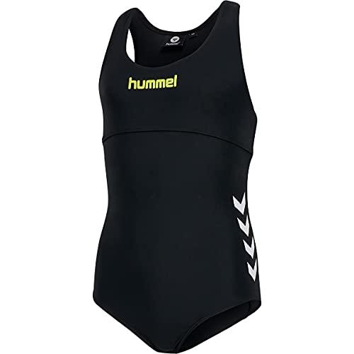 Hummel - hmlJENNA, Kinder Badeanzug Farbe: Schwarz (176)