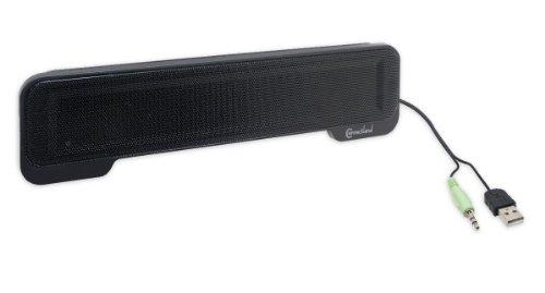 Syba USB Powered Laptop Speaker Bar (CL-SPK20105)