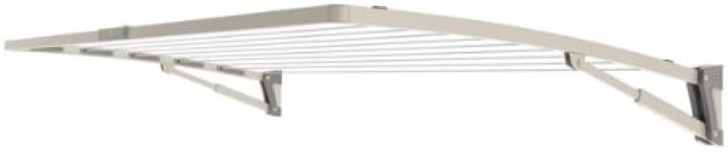 Hills Supa Fold Mono S3 (Pebble Beach) Single Folding Frame Clothesline Indoor/outdoor