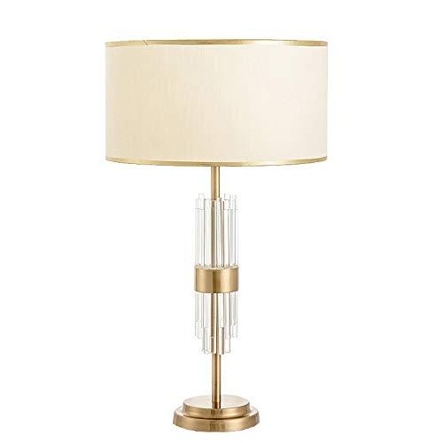 KK Zachary Lámpara de mesa de estilo creativo ambiente sala de estar dormitorio escritorio de la mesita de noche tela simple moderna personalizada lámpara de mesa