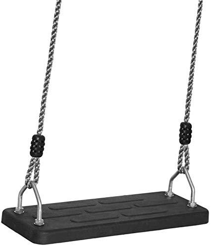 DX Columpio al Aire Libre/Oscilaciones del Heavy oscilación de los niños al Aire Libre Asiento de Goma del Asiento de Plancha Resistente Sentado Altura Ajustable/Columpio Infantil de Calidad