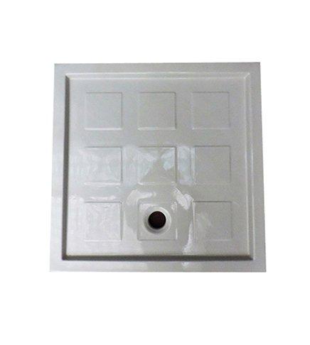Douchebak 90x90 1^vierkante keuze uit wit keramiek trendy Azzurra