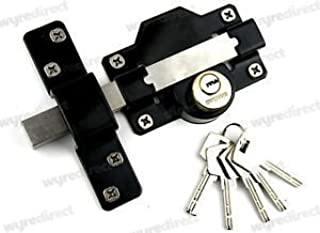 Best double locking long throw gate lock Reviews