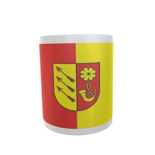 U24 Tasse Kaffeebecher Mug Cup Flagge Stralendorf