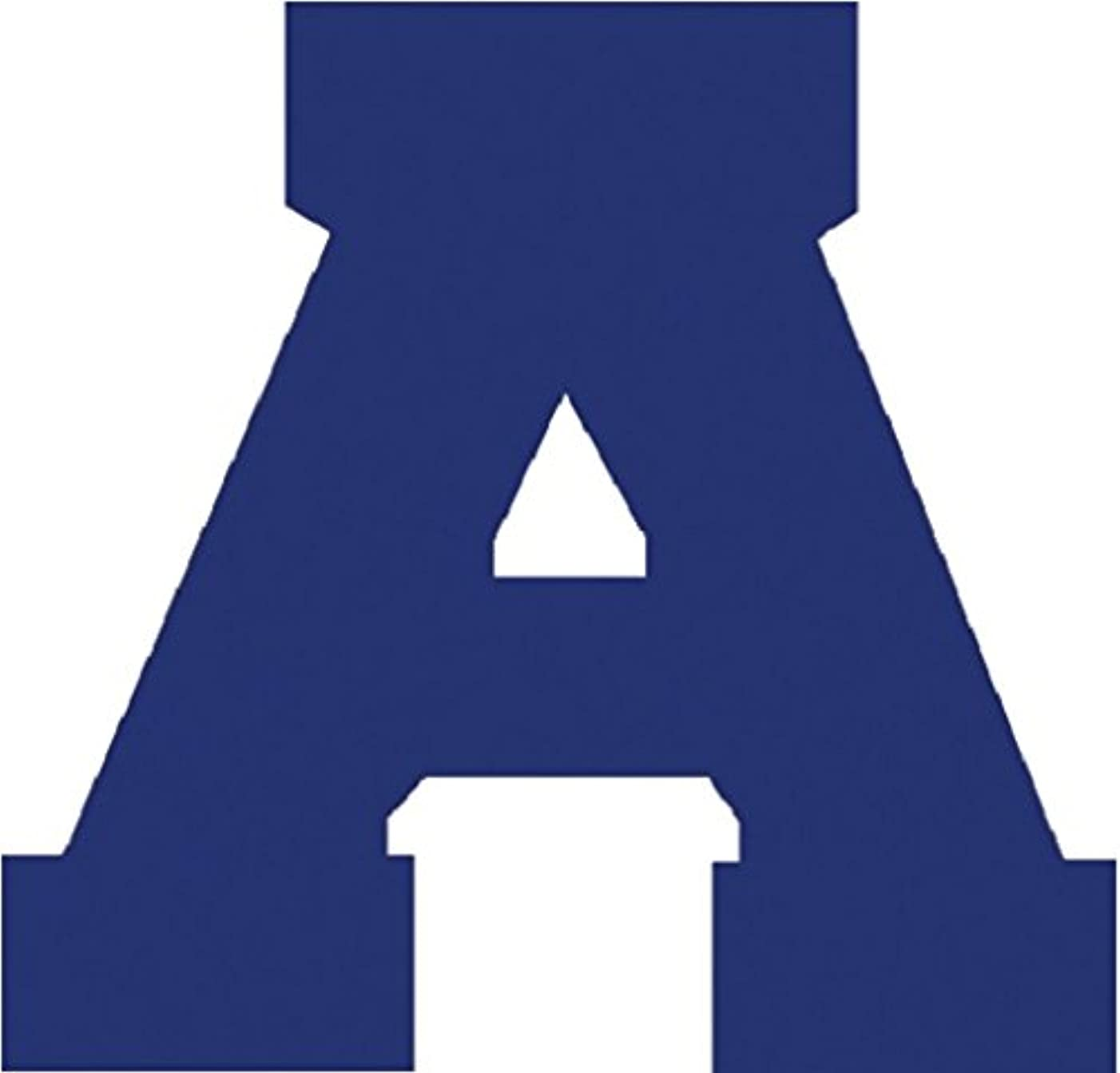 Dritz AT150LRB Iron-on Letters, Soft Flock, Athletic, 1-1/2-Inch, Royal Blue (2-Sheets)