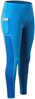 BEESCLOVER #2088 Women Hips Push Up Sports Yoga Gym Running Sweatpants Ladies Stretch High Waist Female Pants Side Pocket