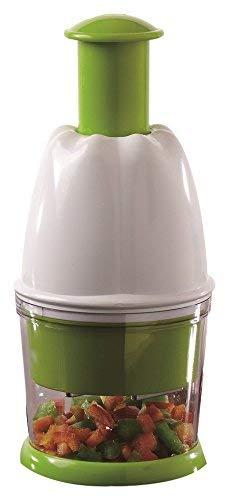 Jocca 5588 Picadora Manual, Blanco y Verde, 9.5 cm