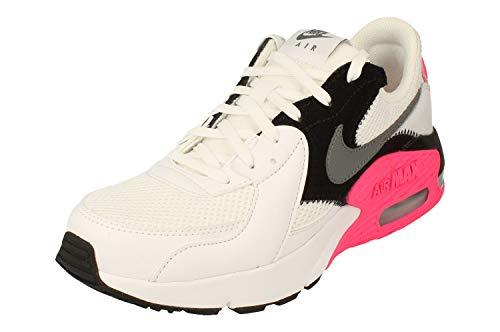 Nike Wmns Air MAX Excee, Zapatillas para Correr para Mujer, White/Cool Grey-Black-Hyper Pink, 39 EU