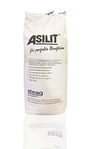 Steag Power Minerals ASILIT Strahlmittel 0,09-0,25 mm 25 kg - für das schonende Reinigen hochempfindlicher Fassaden