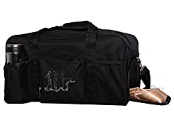 Horizon Dance 4366 Large Black Duffel Bag for Adults