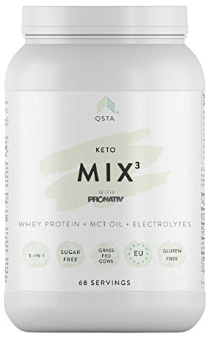 Keto Plus Actives MIX (1 MES) - Electrolitos Keto + Aceite MCT C8, Keto Light o Low-Carb, Sin Aditivos, 100% Natural + Ebook Recetas + Servicio Personalización