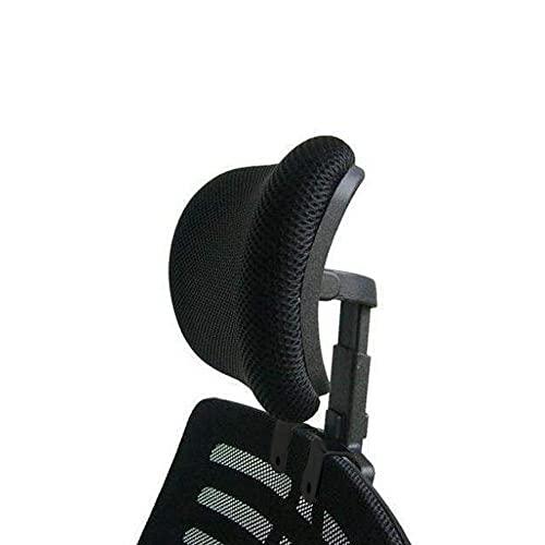 Cuscino poggiatesta universale regolabile in altezza imbottito poggiatesta sedia poggiatesta cuscino in rete con vite lunga e corta per sedia da scrivania direzionale girevole alta, poggiatesta