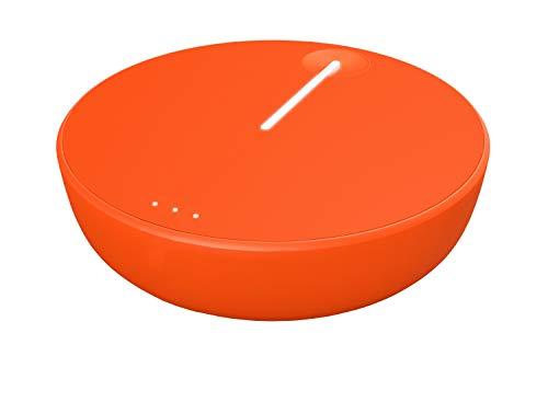 Skyroam Solis Lite - Mobiles WiFi-Zugangsgerät für 10 Benutzer, 4G LTE, Power Bank 4700 mAh mit Dauer von 16 Stunden, Integriertes VPN, Internationaler Hotspot für 130 Länder, Keine SIM-Karte nötig